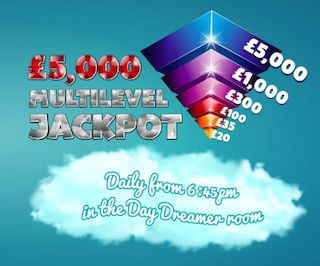 Daily Dream Bingo Daily Jackpot