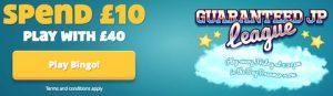 Dream Bingo Deposit Bonus