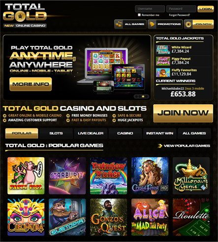 Great Online & Mobile Casino