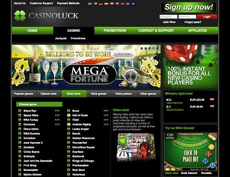 Slots Casino ciel en direct
