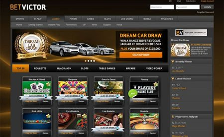 Bet Victor Live Casino for Minimum Deposit