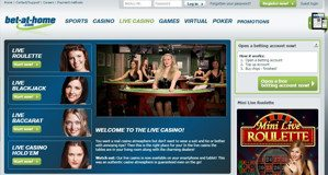 Option for Bet-at-Home Gambling