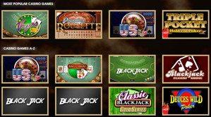 Casino Games Hippozino