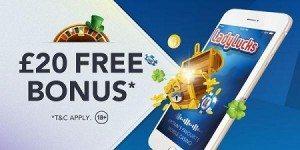 LadyLucks Free Bonus