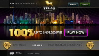 25 Free Spins on Vegas