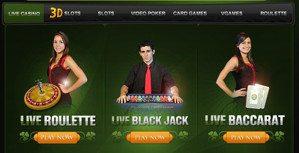 3D Action Casino Games