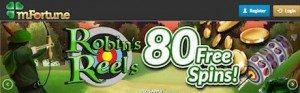 mFortune Free Spins VIP Casino Bonus