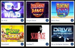 internet gambling slots for mobile