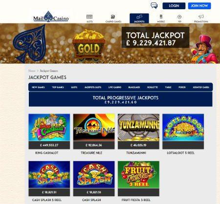 No Deposit Mail Casino Bonus