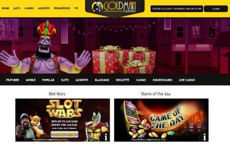 Promotions at Goldman Casino