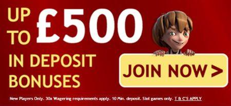Casino UK Bonuses Site