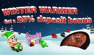 CoinFalls Winter Warmer Promo