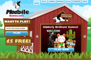 moobile games £5 free bonus slots for mobile
