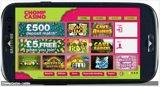 Phone Billing Casino Promos - Chomp Mobile Casino