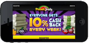 PocketFruity-First Deposit Offer