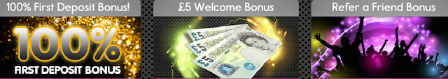 PocketWin Welcome Bonuses