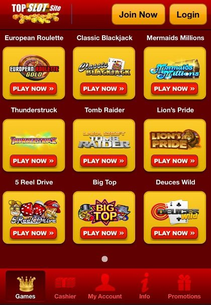 Top Slot Site VIP Games