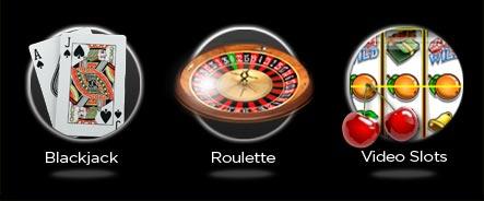 Blackjack, Roulette, Slots with Free Bonus